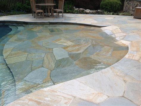 norwegian buff quartzite patio in mahwah new jersey custom quartize