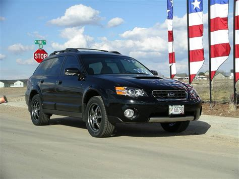 Black Subaru Outback Black Rims Car Pinterest Subaru