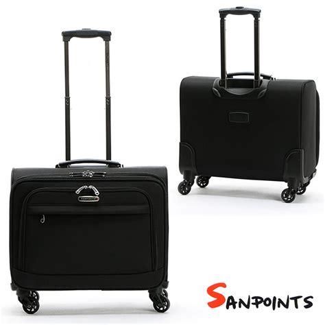 trolley porta pc trolley borsa valigia da viaggio sanpoint 4 ruote manico