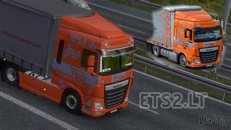 Topi Trucker Valentino 3 Whzr daf xf 6 tobi transport skin ets 2 mods