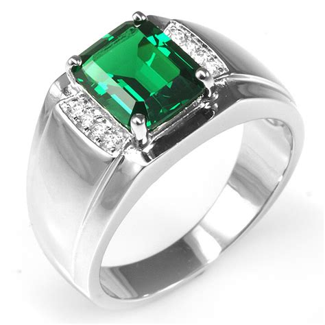 Cincin Berlian Eropa 1 49 Ct Model Listring Ring Emas aliexpress buy jewelrypalace russian design green emerald engagement wedding ring