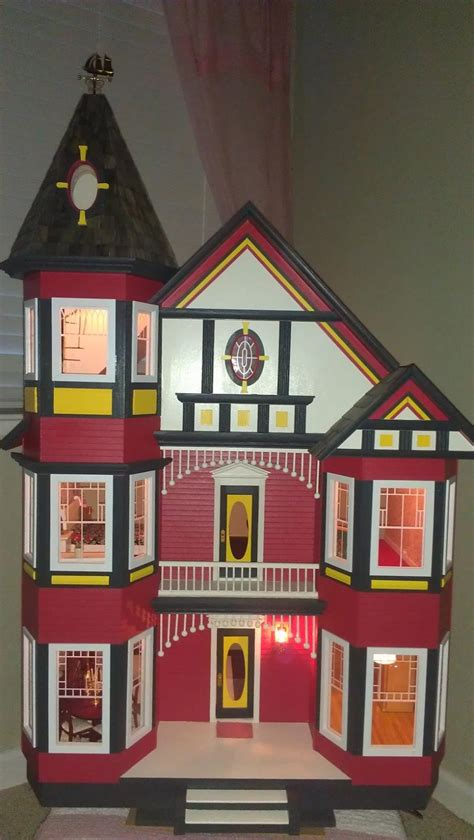 painted doll houses 1000 images about d7 painted lady dollhouses on pinterest