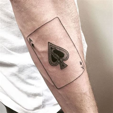 spade tattoo 30 ace of spades designs amazing ideas