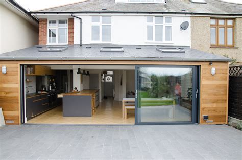 Renovating Kitchens Ideas by Smart Visoglide Grey Aluminium Sliding Doors Installed Dwl