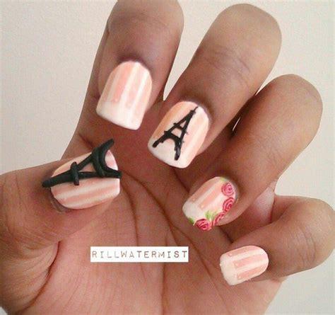 imagenes de uñas pintadas de la torre eiffel dise 241 o de u 241 as al estilo de paris manicure