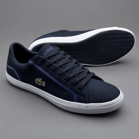 Sepatu Merk Lacoste sepatu sneakers lacoste lerond navy