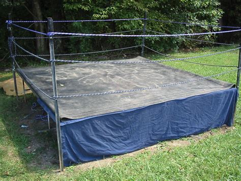backyard wrestling ring backyard wrestling ring outdoor furniture design and ideas