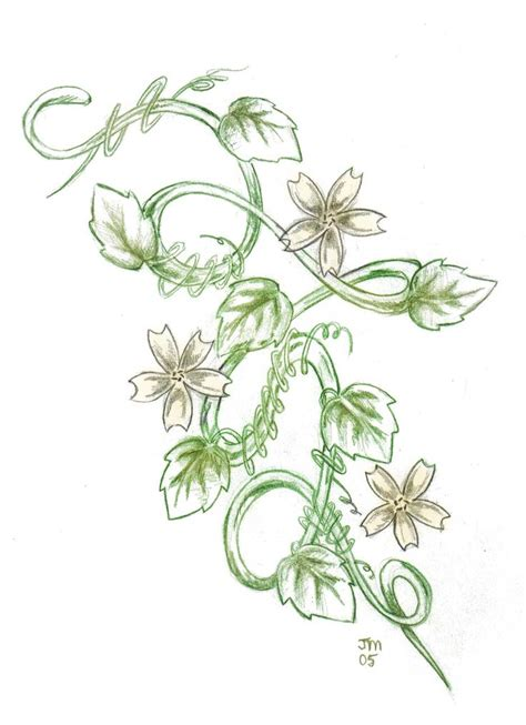 vine with flowers tattoo design 17 best ideas about flower vine tattoos on