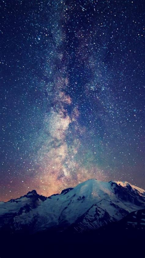 galaxy wallpaper landscape hd milky way galaxy wallpaper wallpapersafari