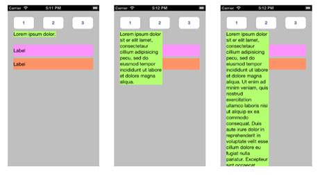 qt5 layout size constraint iphone uilabel sizetofit and constraints stack overflow