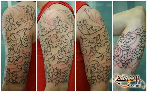 tattoo oriental manga amor de madre portada