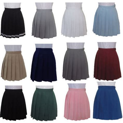 High Quality Import Japan Style Black pleated mini skirt japan school style