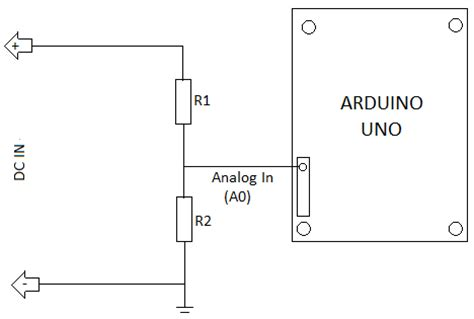 simple resistor divider circuit building a basic volt meter freetronics forum