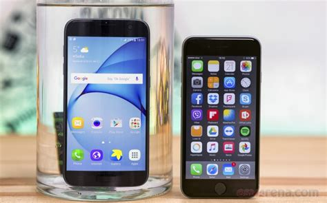 samsung galaxy   apple iphone  sixes  sevens