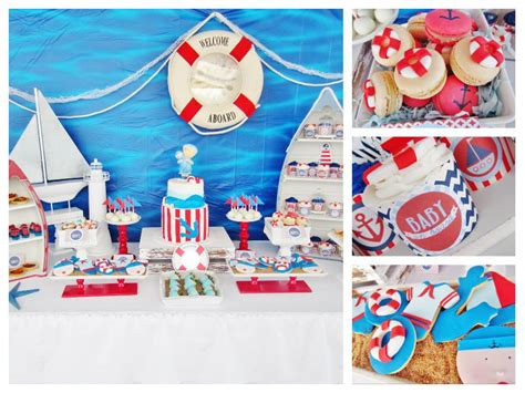 Sailor Baby Shower by It S A Boy Nautical Baby Shower Baby Shower Ideas