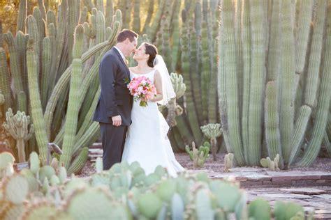 Desert Botanical Garden Weddings Floral Wedding At The Desert Botanical Garden
