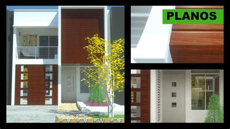 12 en casa 2 planos casa moderna 2 pisos 6m x 12m villa del sol ideas