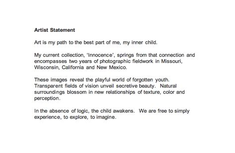 artist statement template artist 20statement 20web jpg images frompo