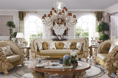Western Chandelier Italian French Rococo Luxury Bedroom Furniture Dubai