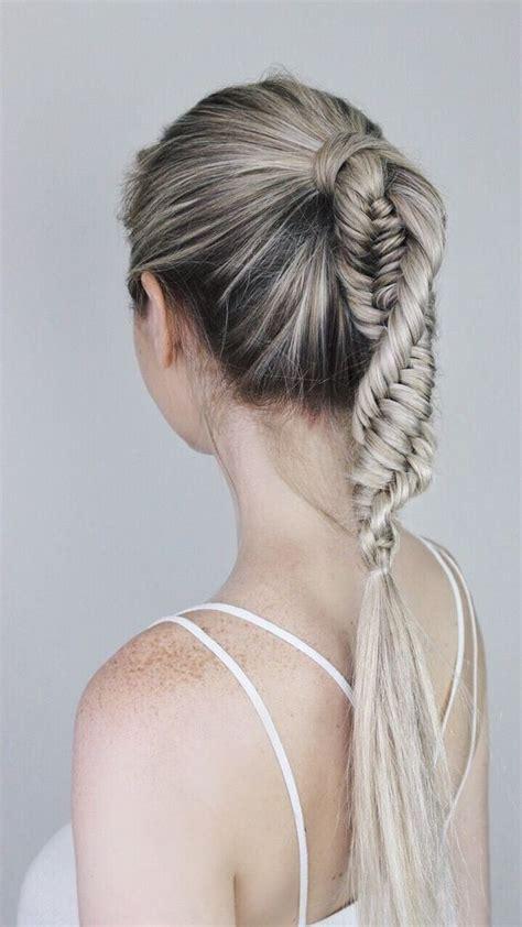 ultra ponytail braided hairstyles  long hair