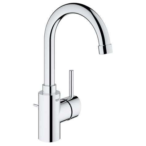 grohe single hole bathroom faucet grohe concetto single hole single handle high arc bathroom