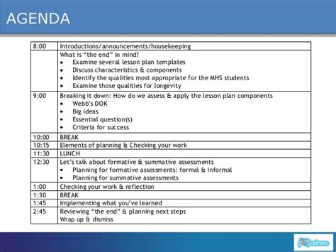 dok lesson plan template it s not just lesson planning