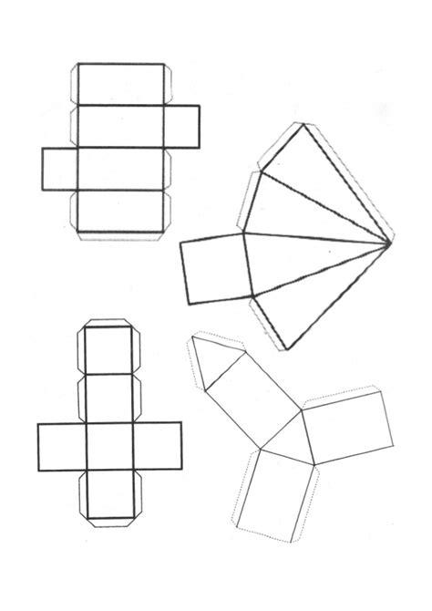 figuras geometricas moldes para armar cuerpos geometricos para armar