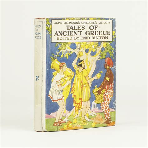 tales of the greek tales of ancient greece by blyton enid jonkers rare books
