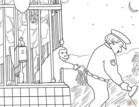 goodnight gorilla coloring page 301 moved permanently