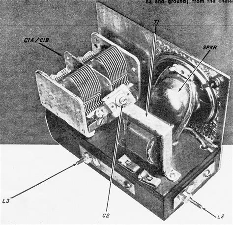 variable capacitor operation high power radio