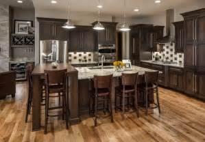 rustic modern lake house transitional kitchen omaha