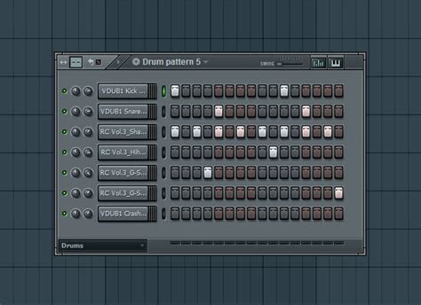 drum pattern fruity loops bass idea for drum and bass