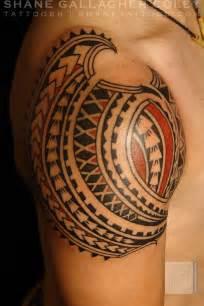 maori polynesian tattoo polynesian shoulder tattoo