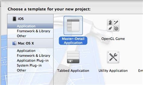 xcode tutorial master detail application making a simple twitter app using ios 5 xcode 4 2 and