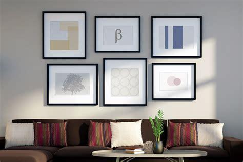 bilder an wand deko trend mehr ist mehr farben muster co kombinieren