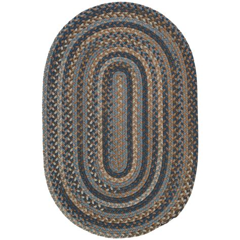 colonial mills millworks oval rug braided wool 3x5