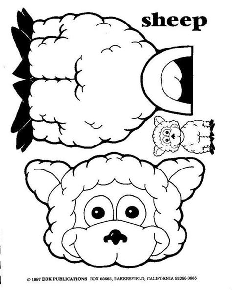 cardboard sheep template 17 best images about three parables luke 15 on