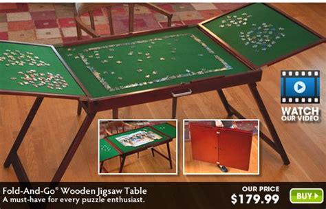 fold   wooden jigsaw table wooden jigsaw jigsaw