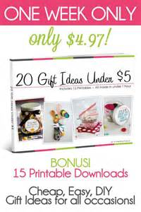 Two Gifts To Buy Twenty Bucks In by 20 Gift Ideas 5 Digital E Book Stress Awesome