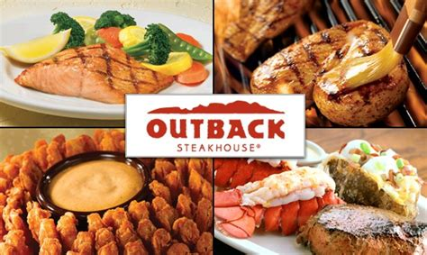 Where Can You Use Outback Gift Cards - big australia menu at outback try the ultimate bloomin onion
