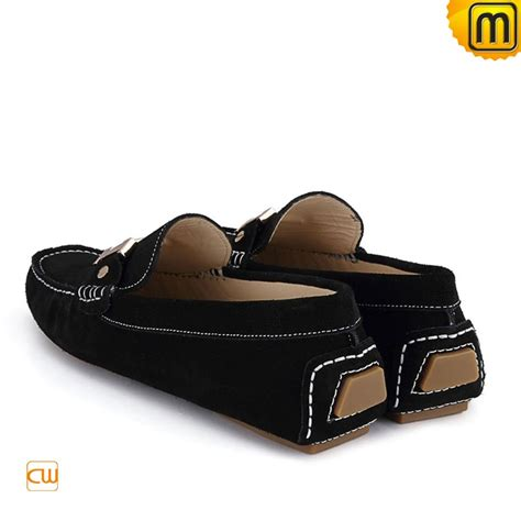 black leather loafer shoes casual leather loafers for cw713125