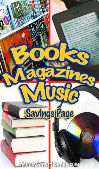 books magazines  save money
