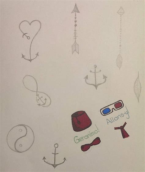 little tattoo designs pencil ver by nommable wendle on