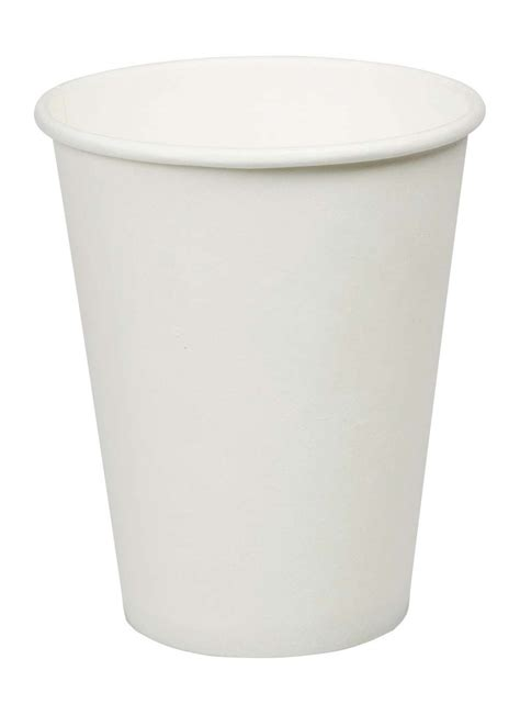 How To Make A Paper Coffee Cup - 12oz white paper coffee cups