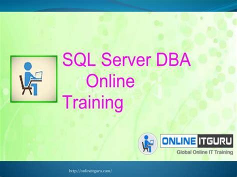 online tutorial for sql online training sql server training online