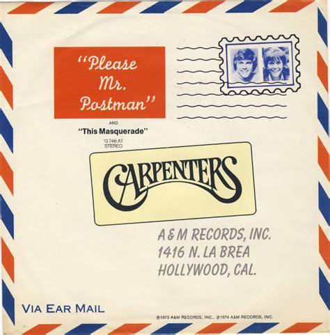 Carpenters ? Please Mr. Postman (1991 Remix) Lyrics
