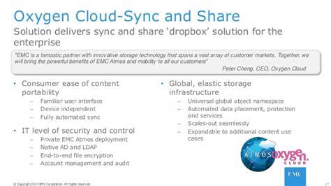 dropbox yorku emc atmos for service providers