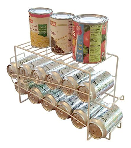 soda racks for cans space saving soda can beverage dispenser rack holds 12 regular size 12 oz soda or beer cans with