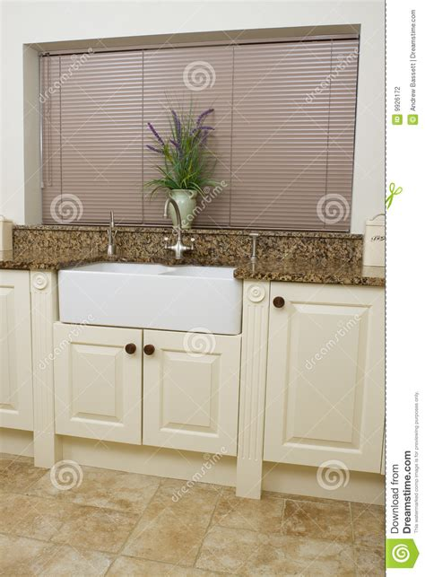 Kitchen Sink Area Modern Kitchen Sink Area Stock Photography Image 9926172