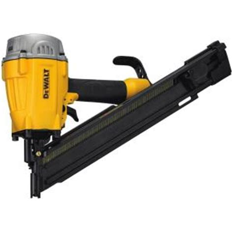 dewalt pneumatic 28 degree framing nailer dwf83ww the
